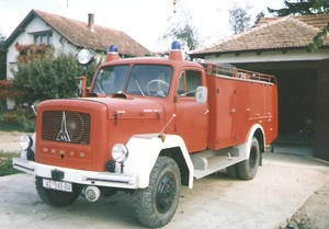 Magirus fire engine built in 1965 (purchased in 1994)
